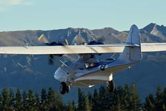 In the early morning sun... (GJC1) Tags: newzealand wanaka warbird airdisplay warbirdsoverwanaka gjc1 wanakaairport geoffcollins