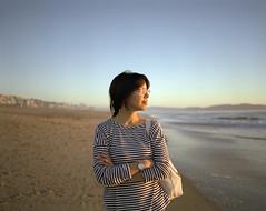 (GIANTORRES) Tags: mamiya film beach fuji pro medium format 6x7 manhatten 65mm 400h 7ii