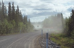 Miles of Dusty Construction (JLS Photography - Alaska) Tags: road summer alaska landscape construction outdoor dirt dust roadconstruction lastfrontier alaskansummer jlsphotographyalaska