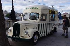 IMGP2963 (Steve Guess) Tags: uk england london truck southbank commercial icecream gb morris van lambeth dsl844