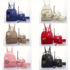 Import @280 Ransel Victoria B 2541 3in1 26x13x29cm Taiga #3Fungsi#Semipremium#Black#Red#Gold#Apricot#Babypink#Blue (merboutique) Tags: blue red black gold apricot babypink semipremium 3fungsi