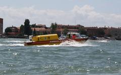 Ambulance Boat (My photos live here) Tags: city venice urban italy canon eos boat town italia ambulance venezia vicenza veneto ambulancia 1000d