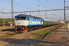 749 259-8 Kosice, Slovakia 22 Jun 16 (doughnut14) Tags: tour diesel rail loco slovensko slovakia grumpy notforprofit kosice nfp bardotka t4782065 zeleznicne 7492598