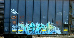 venom ARS (timetomakethepasta) Tags: venom ars spade yukon isto tyme poop fart freight train graffiti boxcar art csx csxt