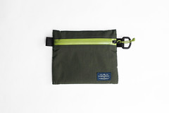 Flat Pouch Green 02 (Imagery Bags) Tags: zipper ykk waterresistant flatpouch drypouch