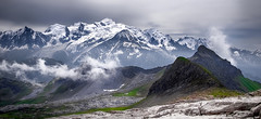 Panorama MONT-BLANC..... (Malain17) Tags: flickr montblanc mountains altitude paysage snow glacier hautesavoie hautemontagne image panorama sky photography photographers pentax clouds france capture landscape wow