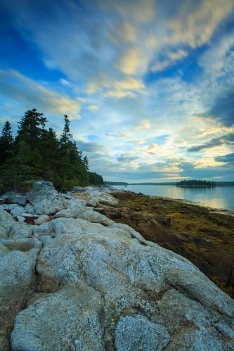 Indian Point, Hog Island, Maine