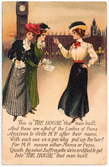 Suffragettes (pepandtim) Tags: postcard old early nostalgia nostalgic 54suf43 suffragettes london series bb chalgrove 05121913 1913 pitson crown toot baldon oxford edie girls brooks