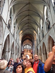 View of the ceiling (BBuzz1) Tags: saintpatrickscathedral westsalemhighschool westsalemhighschoolfrench wshsfrench wshseurotrip dublin