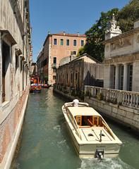 DSC_0056 (bikerchisp) Tags: venice italy ital italia venise canals lagoon bridges gondola holiday vacation europe adriatic sea water waterways streets blue sky bluesky sunshine bikerchisp