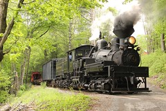 Shay 4 @ Cass (Clear333track1west) Tags: shay shay4 cassscenicrailroad casswv train trains railroad railway steam engine