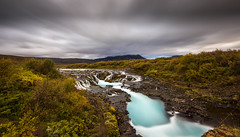 Bruarfoss Waterfall (peter_beagan) Tags: sigma 1020 iceland waterfall canon 600d water long exposure 10stop nd filter