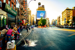 A slice of Chinatown (Arutemu) Tags: city cityscape ciudad fuji fujifilm nyc ny newyork newyorkcity manhattan street 18mm