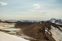 Krafla Viti Crater 14 (sarahmonious) Tags: kraflaviticrater kraftla viti myvatn kraftlavolcano volcanocrater crater hverir snow route1iceland route1 ringroad iceland iceland2016 icelanding2016 traveling