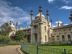 Royal Pavilion Brighton (twinbowlers) Tags: brighton hdr canong12 sky pier royal 1360
