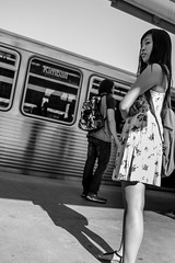 Street walk session 6-27-2016 pic4 (Artemortifica) Tags: belmont brownline cta chicago clarkandlake sonya6300 street blueline buses candid city downtown passengers people trains il