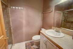 Hallway Upstairs Bathroom (jayklosinski) Tags: vacation rental northwoods snowmobiling skiing atv wisconsin michigan