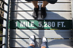 Mile High (vick28658) Tags: milehigh grandfathermountain northcarolina lookingdown onemile 5280feet fromwhereistand feet shoes bridge