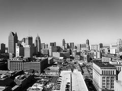 IMG_7983 (bmaccosham) Tags: detroit city usa united states black white skyline skyscrapers buildings