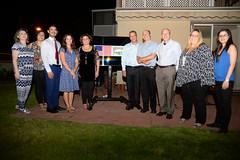 DCM Tsou congratulates Eilat Eilot on the success with their US