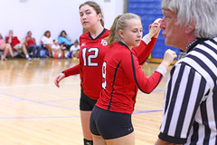 IMG_3007 (SJH Foto) Tags: girls volleyball high school mount olive mt team tween teen teenager varsity substitution sub rotation