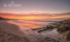 Sunrise on the rocks.... (Emily_Endean_Photography) Tags: branksome beach bournemouth dorset seascape nikon sunrise coast ocean beautiful colours lee filters leefilters longexposure