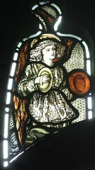 [45621] St Editha, Tamworth : Musician (Budby) Tags: tamworth staffordshire church window stainedglass preraphaelite