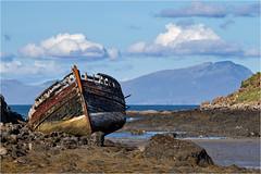 At rest….(low tide) (Antony Ward) Tags: scotland isleofmull boats fishingboats seascapes
