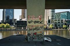 Homeless camp - Melbourne CBD (jack_delamare) Tags: leica 35mm homeless melbourne portra