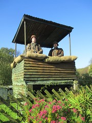 Soldiers in the lookout tower 10Oct14