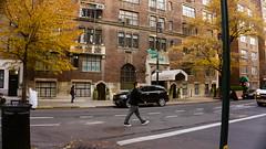 Sidewalk, Gramercy (Jeffrey) Tags: nyc newyorkcity autumn trees winter ny fall leaves buildings walking december walk manhattan lexington midtown eastside gramercypark autumnal 20thstreet 20s gramercy lexingtonavenue 2014 midtowneast gramercyparksouth midtownsouthcentral