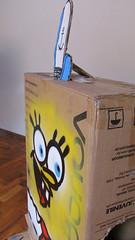 Caixa Quadrada (rage_art) Tags: bob spray caixa esponja quadrada cala papelo espatula