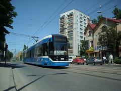Bombardier NGT6-2, #2036, MPK Krakw (transport131) Tags: tram krakw mpk bombardier tramwaj ngt6