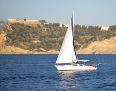 Sailing boat (redsk82) Tags: sea italy italia napoli naples sailingboat