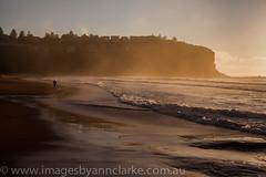 Morning stroll (Images by Ann Clarke) Tags: sunrise australia nsw rockpool northernbeaches bilgolabeach australianfemalephotographer wwwimagesbyannclarkecomau sept2014