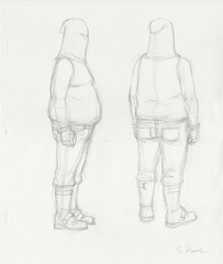 Metalocalypse - Dethklok Fat Klokateer Production Drawing (candoartist) Tags: animation animationart dethklok metalocalypse productioncel klokateer productiondrawing