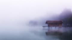 Morgennebel (blichb) Tags: fog germany bayern deutschland bavaria nebel ammersee inning stegen morgennebel 2013 fnfseenland canon6d inningamammersee blichb sigma2470mm128dghsm