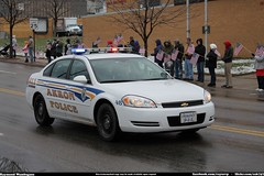 APD Chevrolet Impala (Seluryar) Tags: justin ohio chevrolet police funeral fallen procession impala department officer akron apd winebrenner
