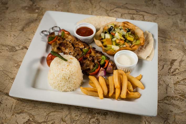 Bohol Beach Club - Chicken Shish Kebab