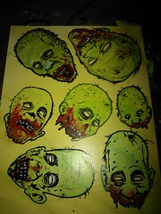handstyles (andres musta) Tags: art sticker stickerart zombie stickers squad adhesive andres zas musta zombieartsquad