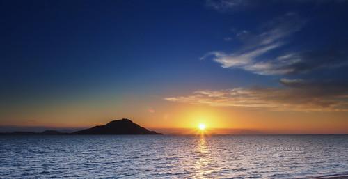 Kanawa island sunset
