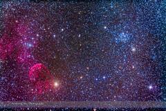 Supernova Remnant & Star Cluster in Gemini (Amazing Sky Photography) Tags: opencluster messier gemini m35 ic443 propus emissionnebula ngc2158 supernovaremnant jellyfishnebula etageminorum