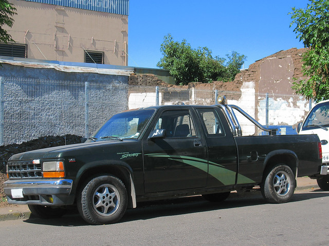 pickup dodge 1995 dakota magnum v6 camionetas clubcab dakotav6