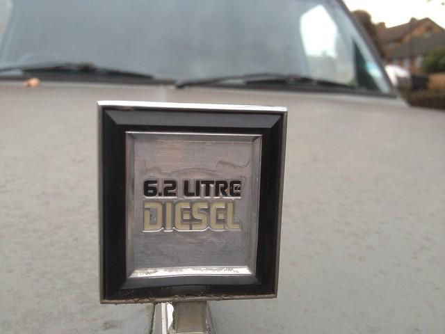 chevrolet 4x4 diesel suburban 1991 62litre