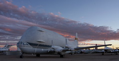1412-PimaAir-017 (musematt11) Tags: arizona plane airplane desert tucson dusk aircraft transport az nasa c97 pimaairandspacemuseum superguppy stratocruiser