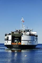 0554J484 (jgphoto1us) Tags: ocean usa tourism ferry boats island boat unitedstates capecod massachusetts tourists coastal transportation marthasvineyard woodshole ferries carferry vessal tisbury sailingvineyardhaven