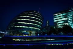 Blue London (aljones27) Tags: blue london cityhall scoop morelondon