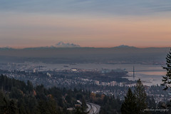 Sunset at Cypress Lookout (jennchanphotography) Tags: bridge sunset mountain mountains tourism vancouver landscape downtown baker famous sightseeing landmark tourist lookout cypress iconic vancity jennchanphotography
