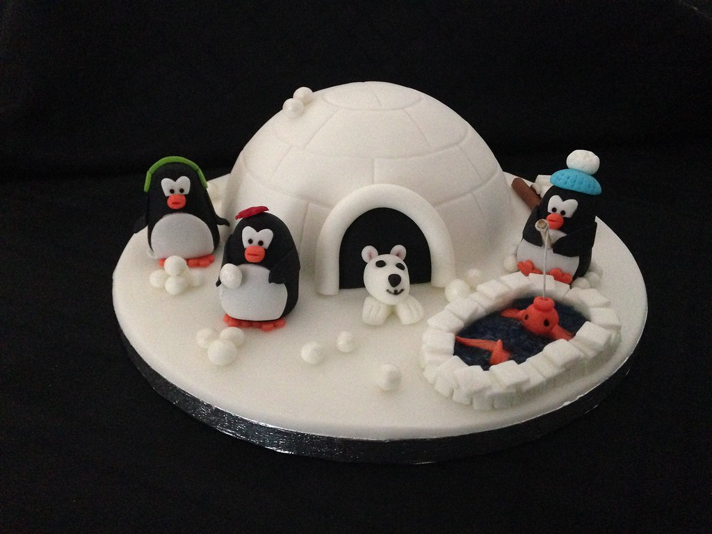 Penguin Christmas Cake Images : The World s Best Photos of igloo and penguin - Flickr Hive ...
