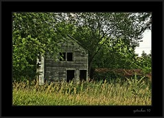 The Situation in Hamburg (the Gallopping Geezer 3.7 million + views....) Tags: old building rural canon decay michigan hamburg roadtrip structure historic faded worn decayed smalltown geezer 2010 corel